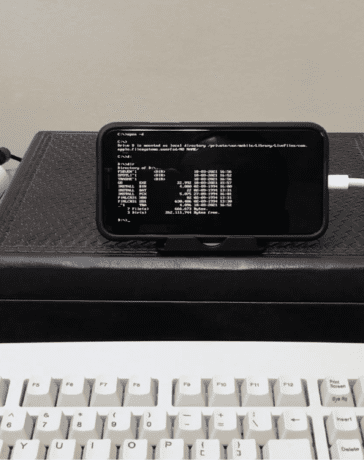 iDOS Running DOS on an iPhone