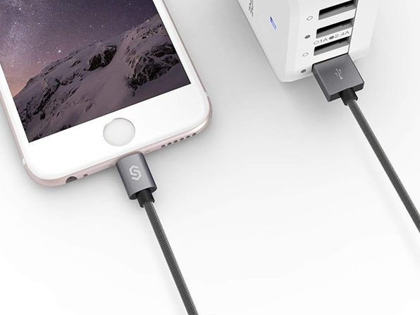 Nylon Braided iPhone Lightning Cable